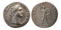 Ancient Coins - ROMAN EMPIRE. Domitian. 81-96 AD. Silver Denarius.