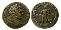 Ancient Coins - THRACE, Philippopolis. Caracalla. 198-217. Æ. Rare. Celebrating the Alexandrian and Pythian Games.