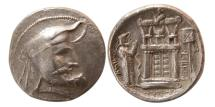 Ancient Coins - KINGS of PERSIS. Autophradates I. 3rd Century BC. Silver Tetradrachm.