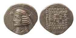 Ancient Coins - KINGS of PARTHIA. Orodes II. Ca. 57-38 BC. Silver Drachm. Ecbatana mint.
