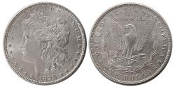 World Coins - UNITED STATES. 1898. Morgan Dollar. Choice UNC.