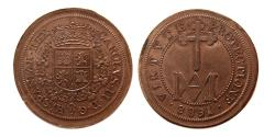 World Coins - SPAIN, Carlos II. 1661-1700. Segovia. 8 reales. dated 1688. Siglo XIX.