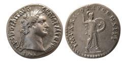 Ancient Coins - ROMAN EMPIRE. Domitian. 81-96 AD. Silver Denarius.