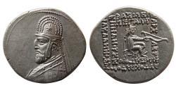 Ancient Coins - KINGS of PARTHIA. Mithradates III. 87-80 BC. AR Drachm.