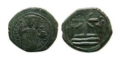 Ancient Coins - BYZANTINE EMPIRE. Manuel I. Comnenus 1143-1180 AD. Æ Tetrateron.