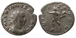 Ancient Coins - ROMAN EMPIRE. Valerian I. 253-259/60 AD. AR Antonininaus.