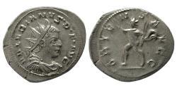 Ancient Coins - ROMAN EMPIRE. Valerian I. 253-260 AD. AR Antoninianus. Lustrous.
