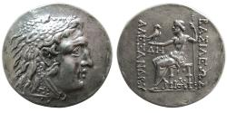 Ancient Coins - KINGS of MACEDON. Alexander III. 336-323 BC. AR Tetradrachm. Mithradatic alliance issue. Odessos mint.