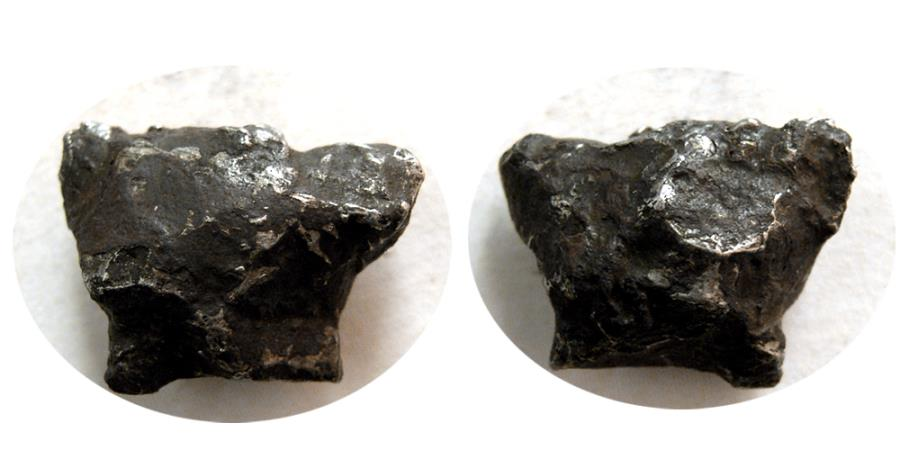 Ancient Coins - An Iron Meteorite.