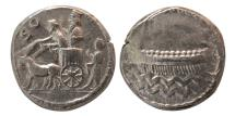 Ancient Coins - PHOENICIA, Sidon. Abdastart I. Circa 365-352 BC. AR Dishekel. Lovely strike.