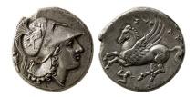 SICILY, Syracuse. Agathokles. 317-289 BC. AR Stater.