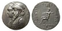 Ancient Coins - KINGS of ELYMIAS. Kamnaskires III and Anzaze. Circa 82/1-73/2 BC. AR Tetradrachm.