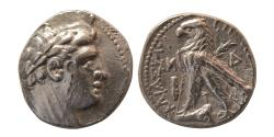 Ancient Coins - PHOENICIA, Tyre. 126 BC.-65 AD. AR Half Shekel. Dated (AM) year 41 = 86/85 B.C.E.