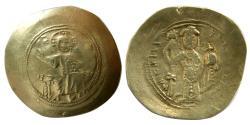 Ancient Coins - BYZANTINE EMPIRE. Nicephorus III. AD. 1078-1081. EL Histamenon Nomisma.