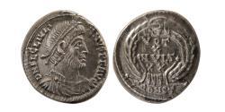 Ancient Coins - ROMAN EMPIRE. Julian II. AD. 360-363. AR Siliqua.  Arelate (Arles) mint. Lovely Strike.