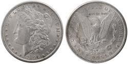 World Coins - UNITED STATES. 1896. Morgan Dollar. Choice UNC.