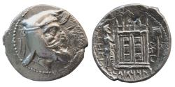 Ancient Coins - KINGS OF PERSIS. Oborzos (Vabharz). 2nd century BC. AR Drachm. Extremely Rare.