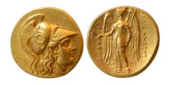 Ancient Coins - KINGDOM of MACEDON, Alexander III. 336-323 BC. AV Stater. Susa mint. Lovely style.