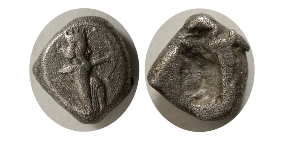 Ancient Coins - ACHAEMENID EMPIRE. temp. Dareios I to Xerxes I. Circa 505-480 BC. AR Siglos.