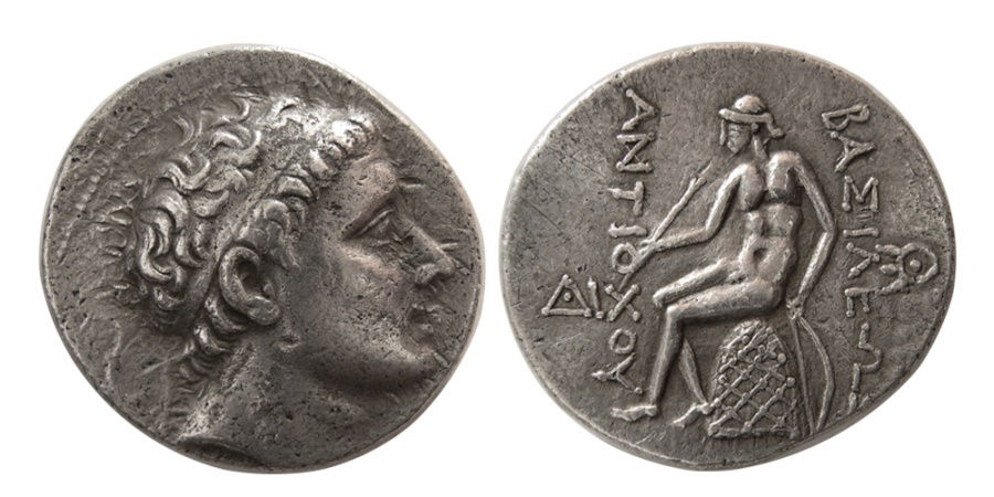 Ancient Coins - SELEUKID KINGS. Antiochus III. 223-187 BC. AR Tetradrachm.