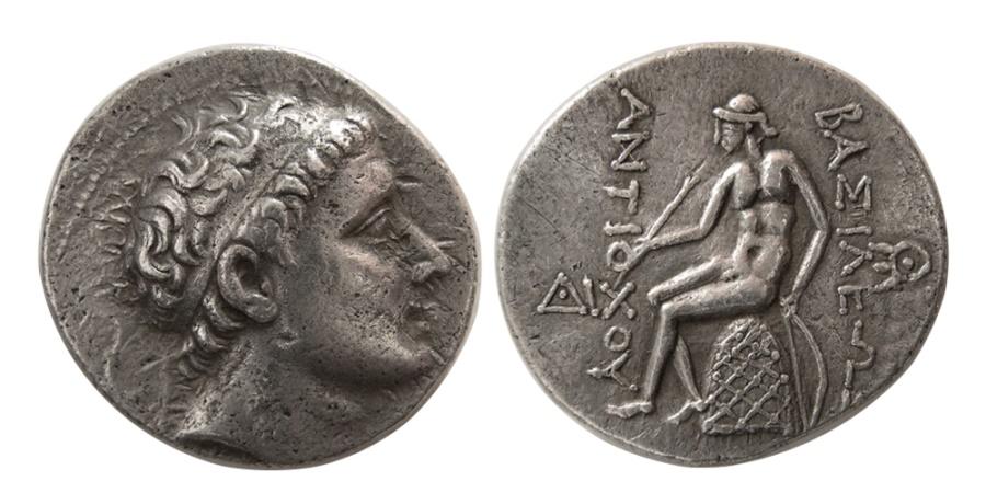 Ancient Coins - SELEUKID KINGS. Antiochus III. 223-187 BC. AR Tetradrachm.