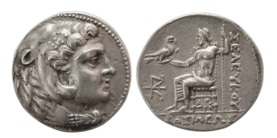 Ancient Coins - SELEUKID KINGS. Seleukos III. 226-223 BC. AR Tetradrachm. Susa mint. Lovely strike.