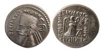 Ancient Coins - KINGS OF PARTHIA, Vonones I. Circa AD 8-12. AR Drachm.