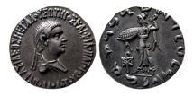 Ancient Coins - INDO-GREEK KINGDOM. Apollodotos II. Ca. 80-60 BC. Silver Tetradrachm. Lovely strike.