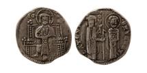 World Coins - ITALY, Venice. Ranieri Zeno, Doge. 1253-1268. AR 1/4 Grosso. Scarce.
