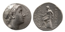 Ancient Coins - SELEUKID KINGS. Antiochus III. 223-187 BC. AR Tetradrachm.  Antioch on the Orontes,