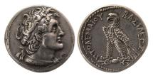 Ancient Coins - PTOLEMAIC KINGS of EGYPT. Ptolemy VI Philometor. 180-145 BC. AR Tetradrachm. Lovely strike.