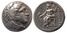 Ancient Coins - KINGS of MACEDON, Alexander III. 336-323 BC. AR Tetradrachm. Amphipolis. Lifetime issue. Lustrous