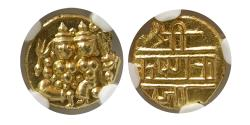 INDIA, Mysore. AD. 1811-1830. Gold Pagoda. NGC-MS 64.