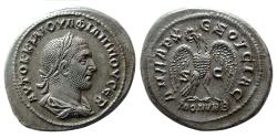 Ancient Coins - SYRIA, Seleucis & Pieria. Antioch. Philip I. 244-249 AD. Billon Tetradrachm.