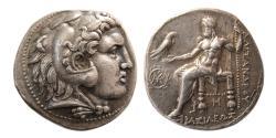 Ancient Coins - KINGS of MACEDON. Alexander III. 336-323 BC. AR Tetradrachm. Babylon, under Seleucus.