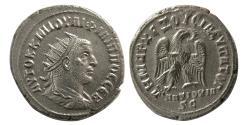 Ancient Coins - SYRIA, Seleucis and Pieria. Philip II. 247-249 AD. Billon Tetradrachm. Antioch mint, struck 249 AD.