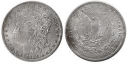 World Coins - UNITED STATES. 1884. Morgan Dollar. Choice UNC.