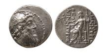 SELEUKID KINGS; Demetrios II Nikator. Second Reign. 129-125 BC. AR Drachm. Rare.