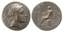 Ancient Coins - SELEUKID KINGDOM. Antiochus III. 223-187 BC. AR Tetradrachm. Seleucia on the Tigris mint.