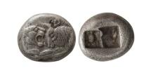 Ancient Coins - LYDIA, Krosis. Circa 560-546 BC. AR 1/2 Stater.