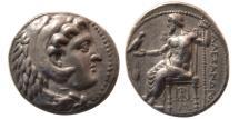 Ancient Coins - KINGS of MACEDON, Alexander III. 336-323 BC. AR Tetradrachm. Babylon. Lifetime issue.