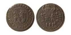 World Coins - SPAIN. Barcelona. 1718. Æ 2 Maravedis. Lovely Strike.