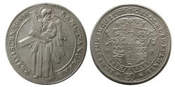 World Coins - GERMANY, Ernst August. 1692-1698, Silver i3. 1690 St. Andreas. Lustrous.