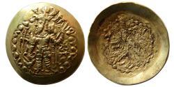 Ancient Coins - KUSHANO-SASANIAN. Bahram III (Kidara). 350-370 AD. Gold dinar.