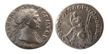 Ancient Coins - ROMAN EMPIRE; Trajan. 98-117 AD. Silver Denarius.