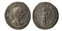Ancient Coins - ROMAN EMPIRE. Macrinus. 217-218 AD. AR Denarius.