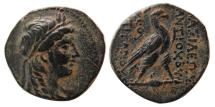 Ancient Coins - SELEUKID KINGS, Antiochos IV Epiphanes. 169-168 BC. Æ22.