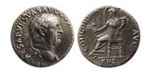 Ancient Coins - ROMAN EMPIRE. Vespasian. 69-79 AD. AR Denarius.