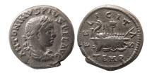 Ancient Coins - ROMAN EMPIRE. Elagabalus. AD 218-222. AR Denarius. Rare.