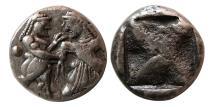 Ancient Coins - MACEDON, Lete. Circa 530-520 BC. AR Stater.